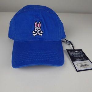 Psycho Bunny Baseball Cap Cotton Twill Cap NWT 🐰